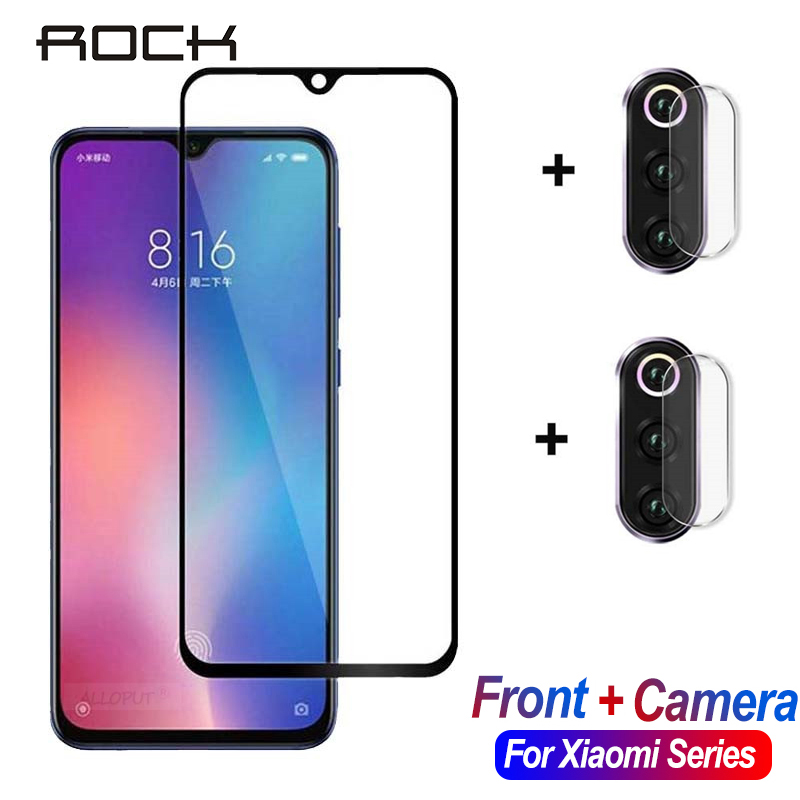 ROCK <font><b>Camera</b></font> Screen <font><b>Protector</b></font> For <font><b>Xiaomi</b></font> <font><b>Mi</b></font> 9 Se A3 Lite 9T Pro Tempered Glass Protective Film For Redmi Note 7 <font><b>8</b></font> Pro Xiomi Glass image