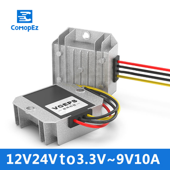 12V Boost Converter 12V 24V to 3.3V 3.7V 4.2V 5.6V 7.5V 9V 10A DC Power Supply Module Step-up DC-DC Conversor Car Power Supply