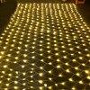 Thrisdar 2x2m 3x2m 6x4m LED Net Mesh Fairy String Light Christmas Tree-wrap Lights Outdoor Wedding Party Curtain Garland Light promo