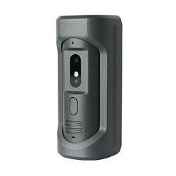 DH logo VTO2101E-P PoE(802.3af) IP Metal Villa timbre, teléfono de la puerta, timbre, IP Video intercomunicador, llamada a la aplicación de teléfono, versión SIP