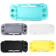 Soft Silicone Case Protective Cover for Nintendo Switch Lite Mini Console Controller Gaming Back Shell Protection Accessories