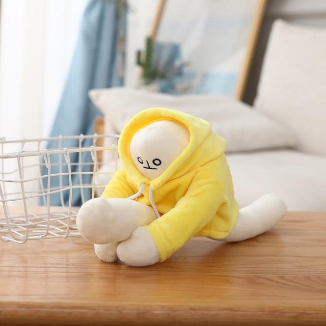 Купить среди нас бананы мягкие плюшевые игрушки спиннинг подушка kawaii
