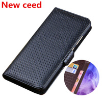 Business wallet phone case genuine leather phone bag for OPPO RX17 Neo/OPPO RX17 Pro/OPPO R17 Pro wallet case card money Slot