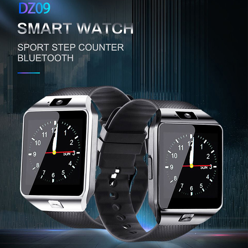 Smart Watch DZ09 Smart Clock Support SIM TF Camera Men Women Sport Bluetooth Wristwatch For Samsung Huawei Xiaomi Android Phone