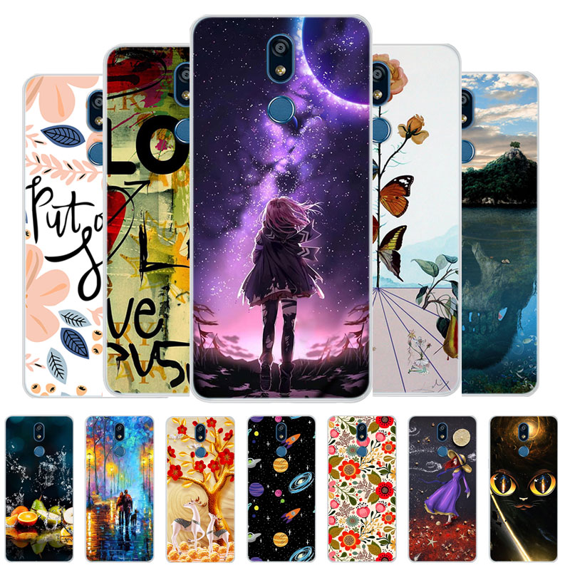 Case For LG K40 Phone Case LGK40 K 40 2019 Cover Silicone Soft TPU Back Cover For LG K12 Plus Case Coque Capa K12+ <font><b>K12Plus</b></font> image