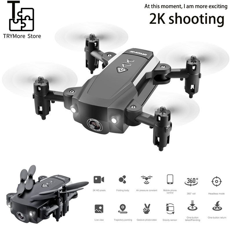 New Mini Kk8 Drone With Hd Camera Wifi 1080p Camera Quadcopter Fpv Professional Drone Advanced Battery Gesture Shot Toy For Kids image
