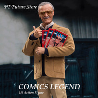 WO 001 1/6 Scale Collectible Full Set COMICS LEGEND Stan 12 inches Action Figure Model for Fans Gifts