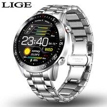 2020 neue Stahl Band Digitale Uhr Männer Sport Uhren Elektronische LED Männlichen Armbanduhr Für Männer Uhr Wasserdicht Bluetooth Stunde + box