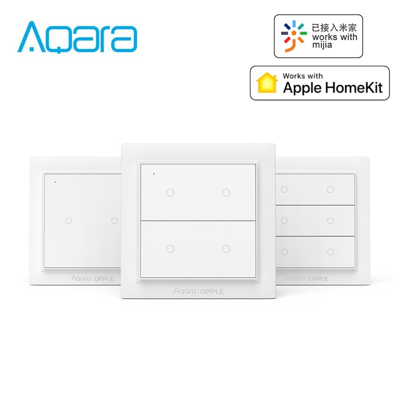 Aqara Opple Wireless Smart Switch Wall Panel Switches Work With Mijia App Apple HomeKit International Version