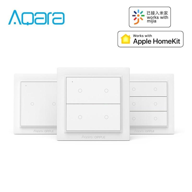 Aqara Opple Wireless Smart Switch Wall Panel Switches Work With Mijia App Apple HomeKit International Version