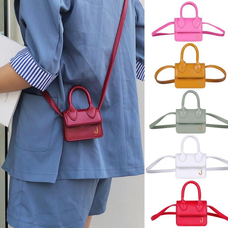 Luxury Handle Mini J Bags Brand Purses Handbags 2020 Women Designer Small Shoulder Crossbody Bags Female Lipstick Bag Totes