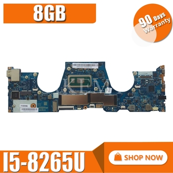 5B20T02806  For Lenovo YOGA   Y730 -13IWL  motherboard LA-G581P mianboard  100% fully tested  i5 8GB