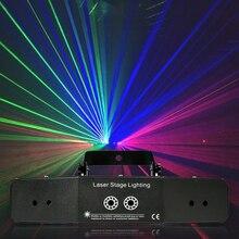 6 العين ضوء المسح الضوئي نمط ضوء الليزر dmx dj تأثير الضوء
