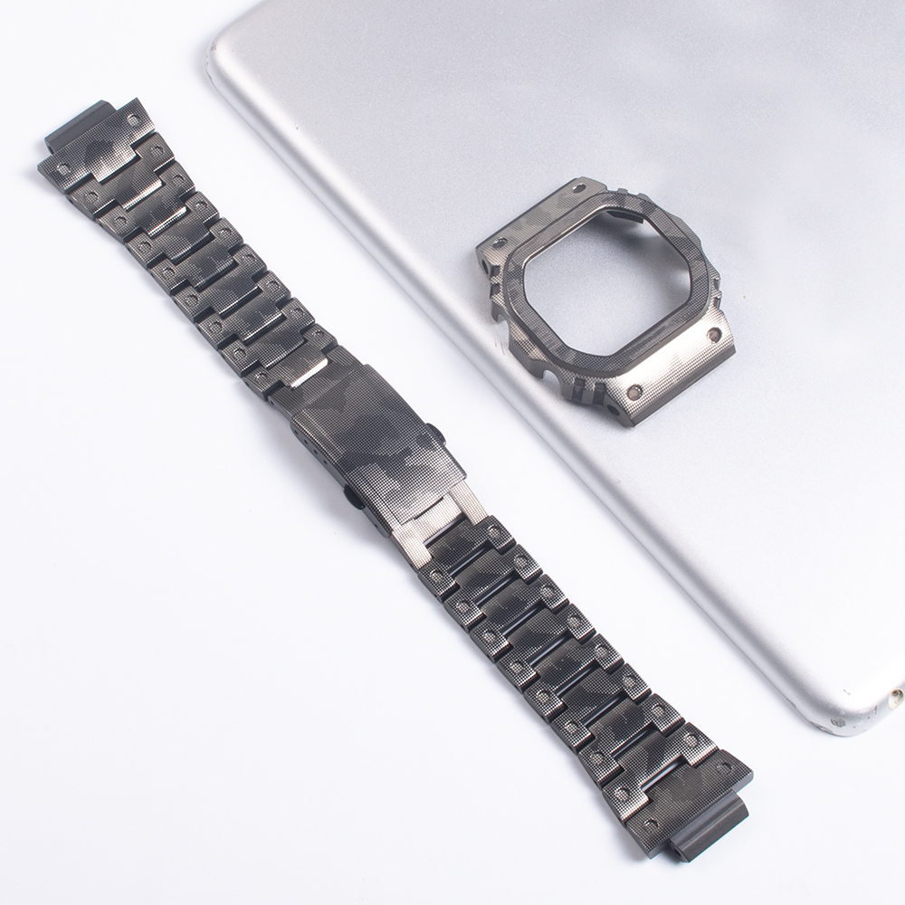 Watch Bracelet For Casio <font><b>G</b></font>-<font><b>shock</b></font> <font><b>DW</b></font>-5035 GWX-<font><b>5600</b></font> Watch Case 316L Stainless Steel Watch Band For Casio GLX-<font><b>5600</b></font> <font><b>G</b></font>-<font><b>5600</b></font>-E Watch image