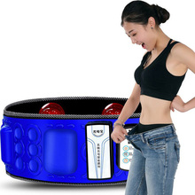 Electric Infrared Slimming Belt Vibration Fitness Massager Lose Weight Shaking Machine X5 Times Abdominal Belly Fat Burn Loss