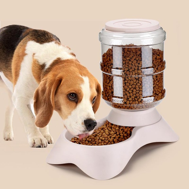 """""""We Love Our Pets"""" Pet Feeders For Large & Small Pups  1"""