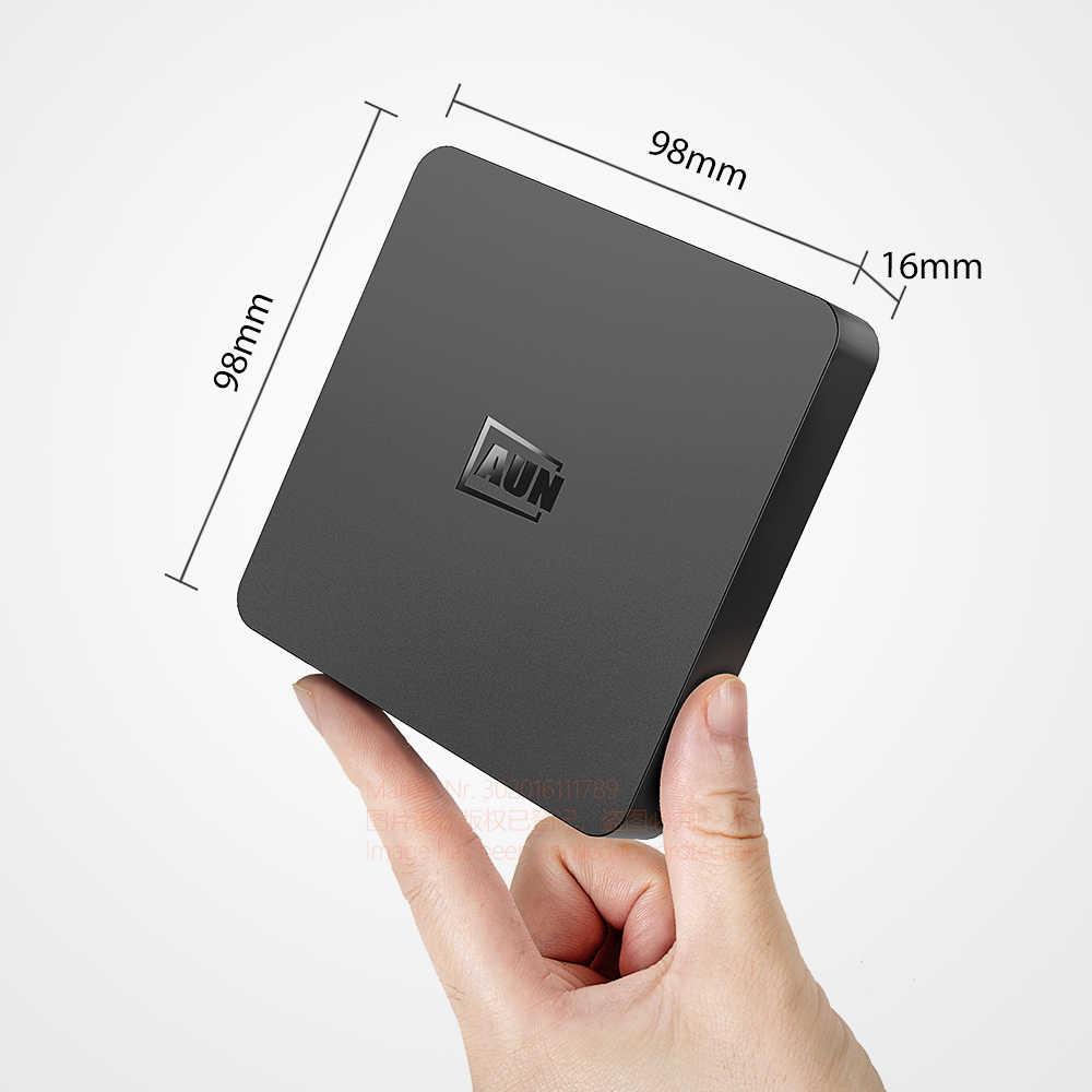 AUN akıllı Android 9.0 TV kutusu, 2GB RAM + 16G ROM 4K Video, WIFI, destek Netflix Google oynatıcı, Set akıllı Top Box 1