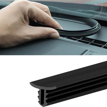 Samochodowe deski rozdzielczej taśmy uszczelniające hałas izolacja akustyczna gumowe naklejki uniwersalne do uszczelek akcesoria do wnętrz samochodowych tanie i dobre opinie FDIK 0inch Rubber Wypełniacze Kleje i uszczelniacze 0 1kg Center Console FD-001P Car Cashboard Sealing Strips Not Packaged