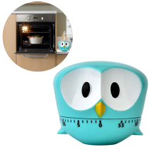 Милый Таймер Сова 60 минут Будильник мультфильм сова напоминание для приготовления пищи помощник инструменты для выпечки Кухонные аксессуары