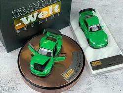 PGM 1:64 RWB 993 Rough Rhythm green Luxury / Ordinary  Diecast Model Car