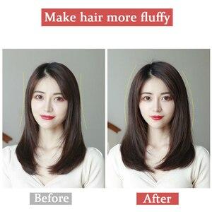 Короткие шелковые прямые человеческие волосы AOSI, черные, коричневые u-образные, 4 заколки для наращивания волос, парики для женщин и девушек ...