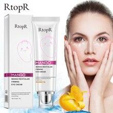 RtopR Mango Moisturizing Eye Cream Anti Winkles Eye Cream Skin Care Dark Circle Anti-Aging Moisturizing Eyes Creams Firming Eye