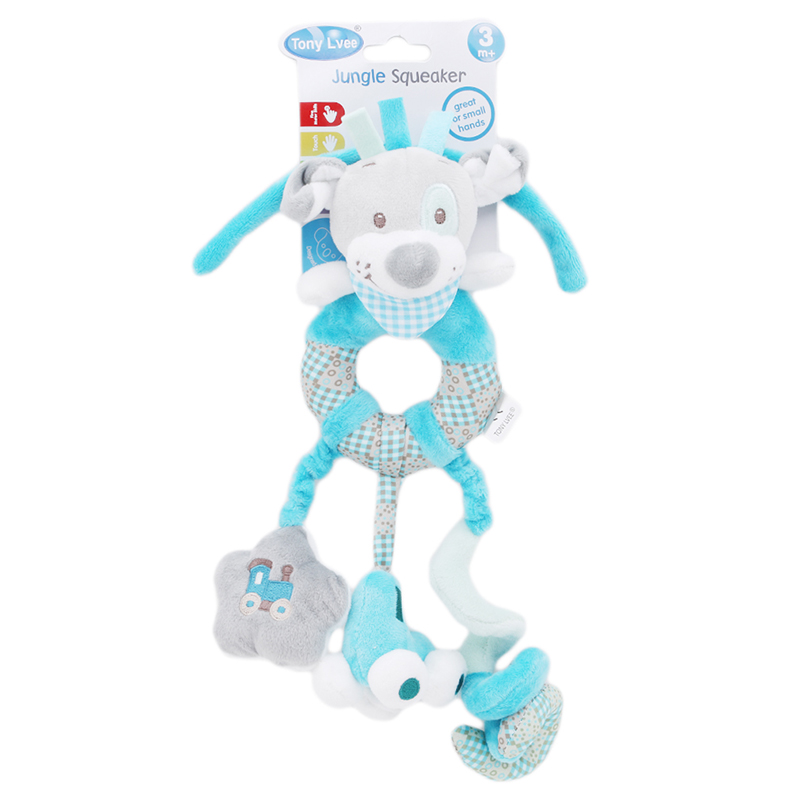 Cute Baby Toys 0-12 Months Soft Plush CartoonToys Baby Toys Animal Doll Lathe Stroller Hanging Baby Bed Rattle Toys