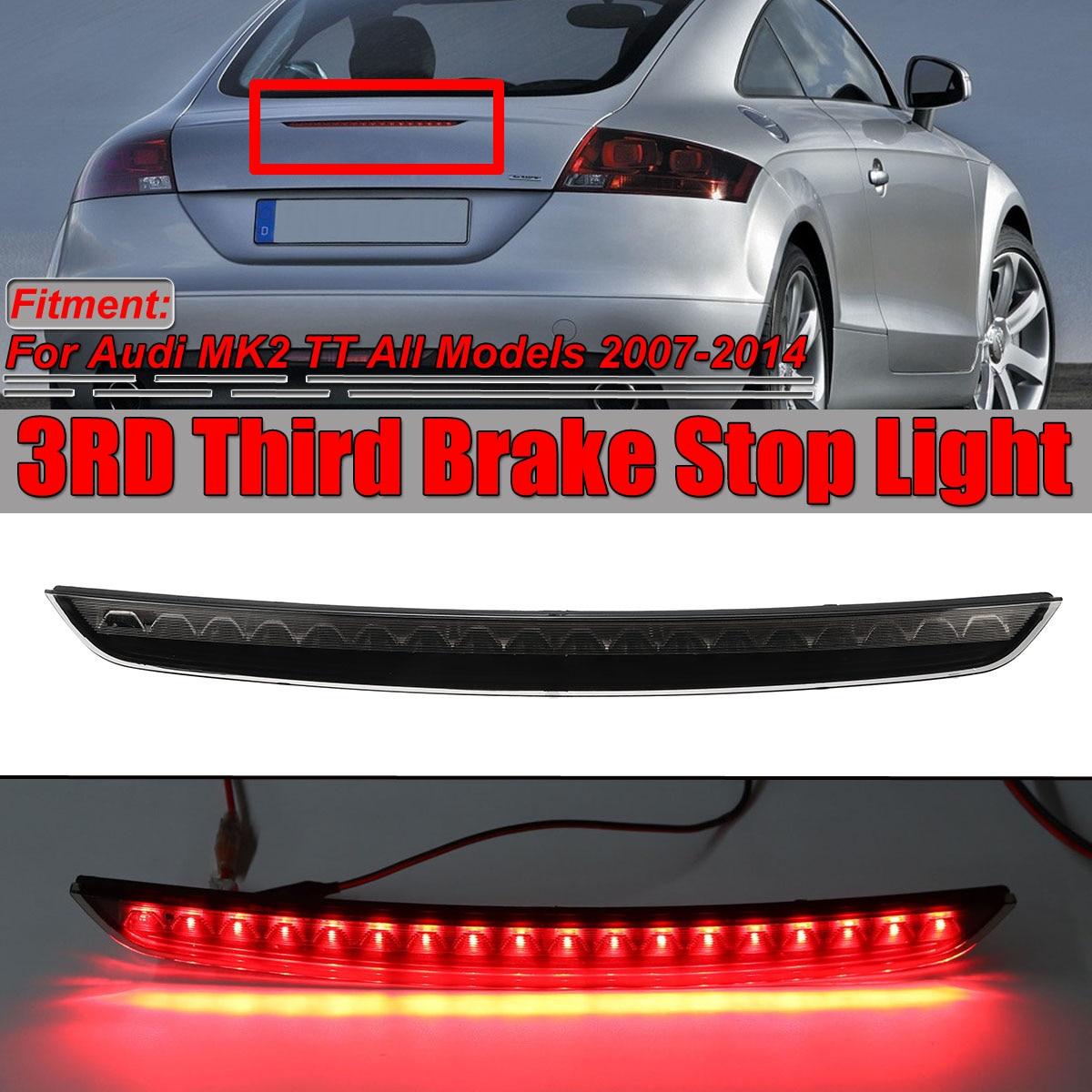 Новый высокое крепление 3RD Автомобильный задний светодиодный тормозной фонарь лампа для Audi MK2 TT 2007 2014 светодиодный автомобильный третий стоп сигнал задний фонарь 8J094509