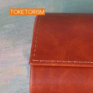 Image 5 - Toketorism Vintage Handgemaakte Glazen Doos Zonnebrillen Tassen Stijlvolle Kunstmatige Lederen Dozen