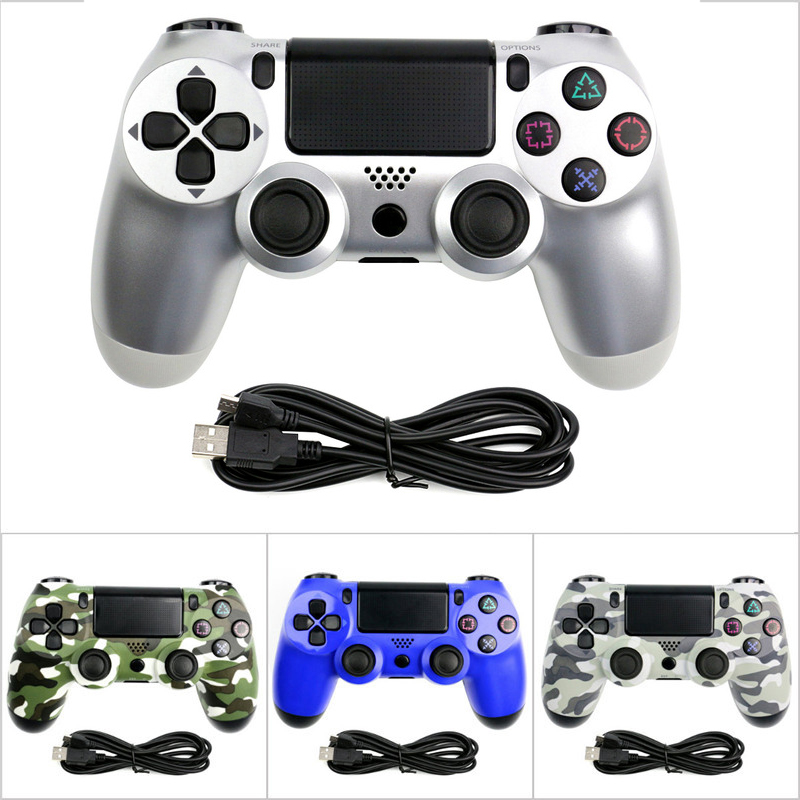 USB Wired Game PS4 Controller Gamepad  For Sony Playstation PS4 For Dualshock Vibration Joystick Gamepads For Play Station 4