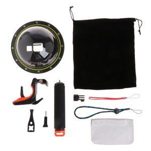 Image 1 - GoPro Hero 5/6 카메라 트리거 용 다이빙 돔 포트 방수 하우징 케이스 커버