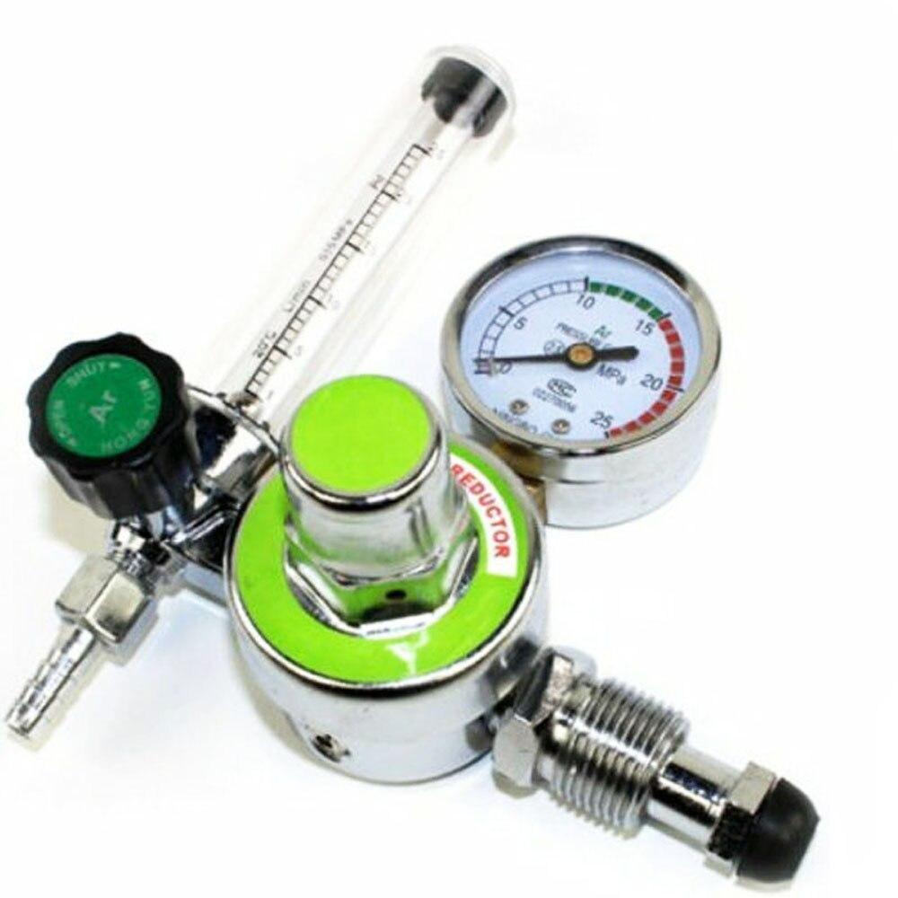 Spawacz Argon CO2 do spawania Mig Tig przepływomierz Regulator spawanie spawacz Gauge Regulator gazu spawacz plazmowy Accesrioes