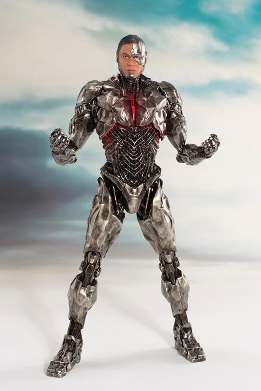 ARTFX + STATUE Justice League Cyborg 1/10 Scale Pre-Painted Figure Toy 20cm