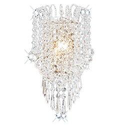 Artystyczny metalowy nowoczesny kryształ led kinkiet oświetlenie domu ściana światło|Wewnętrzne kinkiety LED|   -
