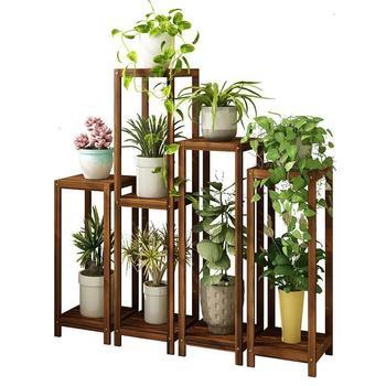 Muebles Plantas Escalera Para Estantería Para Macetas Terraza Soporte Interior Dekoration Stojak Na