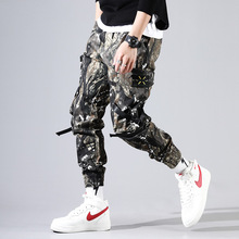 лучшая цена Uniform trousers men's trousers tactical training trousers loose wear-resistant labor insurance trousers jungle military trainin