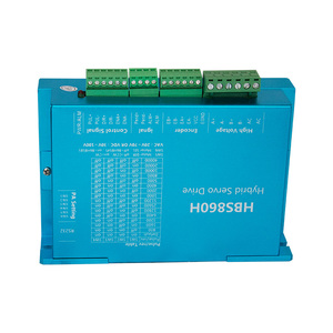 Image 5 - 4 Kit CNC NEMA34 Closed Loop motor 86HSE 8.5N/12.5N  6A Hybrid nema 34 HBS860H & 400W DC Power Supply+ MACH3 Interface board