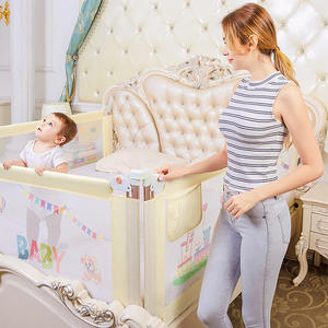 Barrier Rails Bed-Fence Bed-Guard-Rail Babe Security for Beds Playpen-Gate Infant Crib
