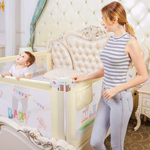 Baby Bed Safety Rail Kids Bed Fence Child Barrier For Beds Playpen Gate Infant Bed Guard Rail Babe Crib Rails Security Fencing