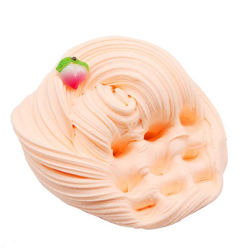60 مللي زبدة الفاكهة رقيق الوحل لوازم اللعب بوليمر كلاي المضافة المعجون لينة ضوء البلاستيسين ل الوحل السحر اللثة ضد الإجهاد