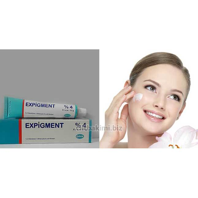 Expigment Hydroquinone 4% Cream Skin Whitening Skin Lightening Skin Melasma Treatment 30g / 1oz | Original | Fast Shipping