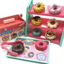 Моделирование мини-пончик магазин касса Модель Дети ролевые игры игрушки Дети Развивающие игрушки девушки подарок на день рождения