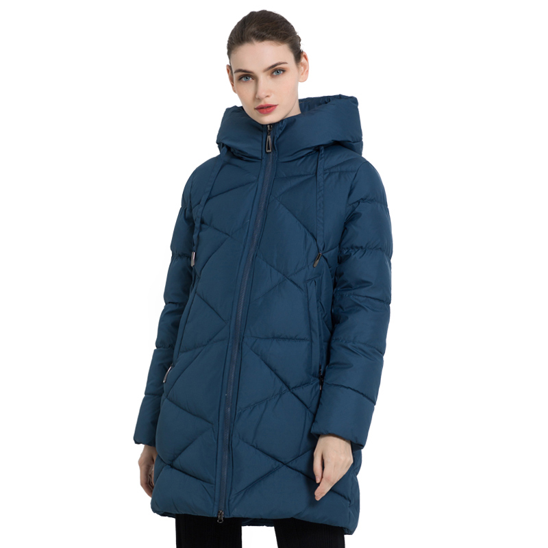 ICEbear 2019 New Winter Women's Jacket Thick Warm Female Jacket Stylish Woman Coat High Quality Winter Female Clothing GWD18297I icebear 2018 new autumn women cotton padded high quality thermal short paragraph slim women s jacket fall woman jacket gwc18126d