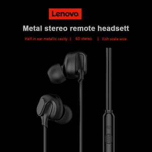 Image 4 - Lenovo HF150 Headset with Mic In ear Wired Earphone for Smartphone MP3 Notebook 3.5mm Jack Gaming Music Headphone