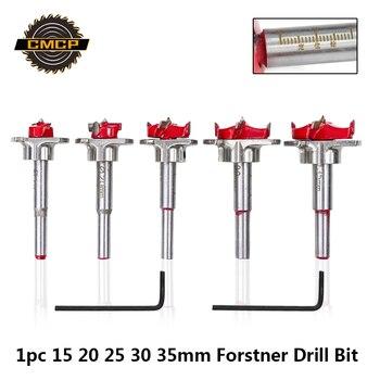 1 ชิ้นเส้นผ่านศูนย์กลาง 15 มม.20 มม.25 มม.30 มม.35 มม.คาร์ไบด์เจาะ Bits งานไม้เลื่อยสำหรับเครื่องมือ Forstner Drill...