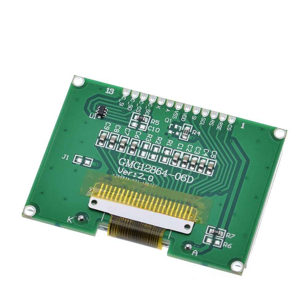 瀋陽 1 個 Lcd12864 12864-06D 、 12864 、 LCD モジュール、 COG 、中国語フォント、ドットマトリックス画面、 SPI インタフェース