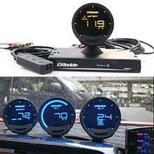 цена на Greddi Sirius LCD Car Gauge Boost Water Temp Oil Temp Oil Press RPM Speed Meter Fuel pressure Air-fuel ratio EGT 7 Colors Gauge