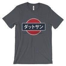 Jdm datsun t camisa 240z 260z 280z 510 bluebird fairlady z z logotipo emblema clássico japonês do vintage