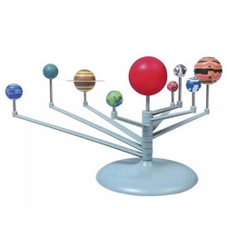 Solar System Nine Planets Planetarium Model Kit Astronomy Science Project DIY Kids Gift Children Worldwide Sale Early Education