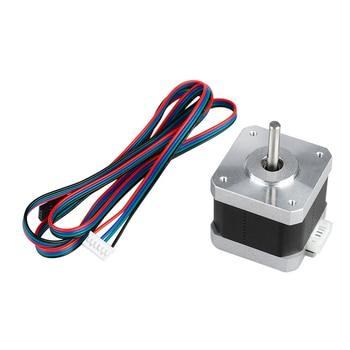 цена на 1.5A 17HS4401  42 Motor Hybrid Stepper Motor 17 Stepper Motor 40N.cm 4-Lead Printer Motor Accessoriesor for CNC 3D Printer